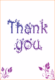 free thank you cards 4 free thank you card templates outline templates