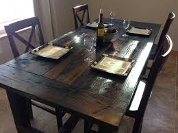 bench style dining room tables rustic farm style kitchen table dining tables farmers distressed