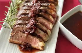 cuisiner un filet de canard magret de canard sauce vin evaliya cuisine