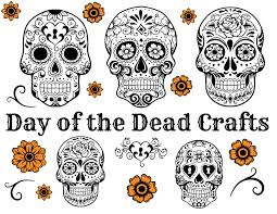 Day Of The Dead Masks Day Of The Dead Crafts Youtube
