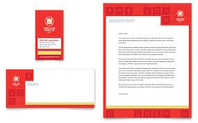 fire safety business card u0026 letterhead template word u0026 publisher