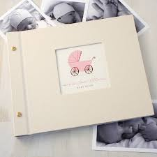 baby album personalised baby photo album by made by ellis