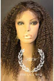 curl in front of hair pic kinky curly lace front wig real human hair wig finelacewigs com