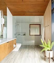 Best  Mid Century Modern Bathroom Ideas On Pinterest Mid - Floor to ceiling cabinets for bathroom