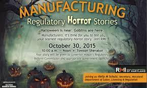 halloween scariest stories rmi manufacturing regulatory horror stories rmi of maryland