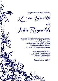 wedding invitations printable free pdf foliage border wedding invitation printable