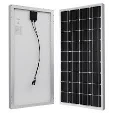 home depot solar renogy 100 watt 12 volt monocrystalline solar panel for rv boat
