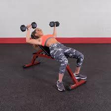 amazon com best fitness bffid10 fid bench adjustable weight