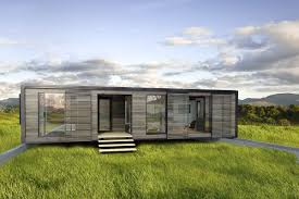 nice modern design of the prefab shipping container homes