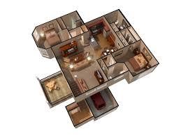 saratoga treehouse villa floor plan