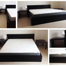 ikea bed risers bedroom ikea malm bed frame with storage design and white