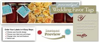 chagne wedding favors custom wedding favor tags personalized favor tags wedding favors
