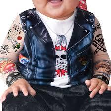 leather jacket halloween costume baby biker infant halloween dress up role play costume walmart com