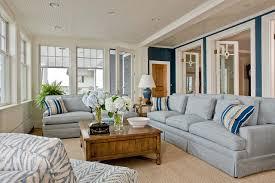 Marblehead Coastal Home Beach Style Family Room Boston By - Coastal home interior designs