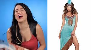 halloween costume native american buzzfeed video calls native american halloween costumes
