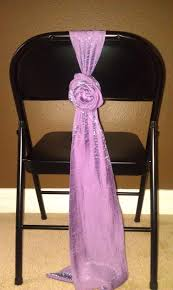 chair sash ties sash tie for metal folding chair without a chair cover