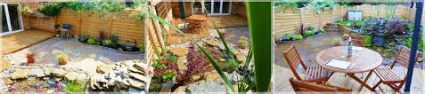 free garden design with the right choosing wooden patio paved