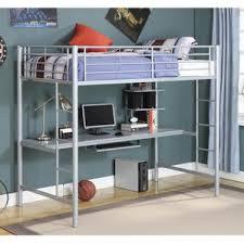 grey bunk u0026 loft beds you u0027ll love wayfair