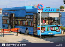 mercedes downtown nessebar bulgaria july 16 2016 mercedes blue library