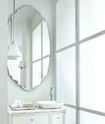 Oval Mirrors For Bathroom Oval Mirror Bathroom Akapello