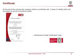 logo bureau veritas certification mce 2016 c norcia bureau veritas italia