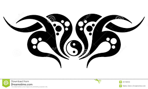 yin yang stock vector illustration of vector 23739330