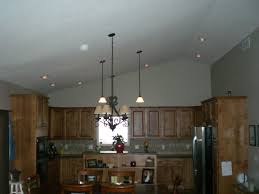 Kitchen Ceiling Lights by Models Cathedral Ceiling Lighting Ideas Lights Vaulted Recessed