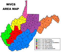 Dr Map Wvcs Area Map West Virginia Chiropractic Society
