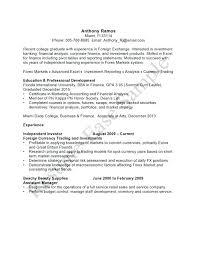 resume for recent college graduate template stunning recent college graduate cover letter pictures