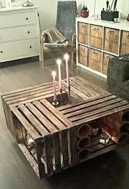 furniture crate coffee table diy ideas crate coffee table crate