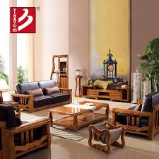 Wooden Living Room Sets Wooden Sofa And Furniture Set Designs For Small Living Room