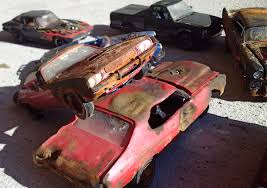 car junkyard diorama relics u0026 retro on twitter