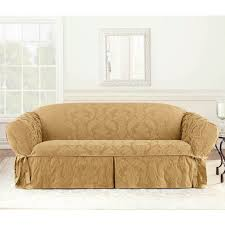 Sofa And Loveseat Slipcovers by Sure Fit Matelasse Damask Sofa Cover Hayneedle