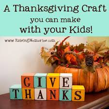 decorative thanksgiving blocks craft with your
