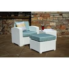Lounge Patio Chair Outdoor Chair With Ottoman Wayfair