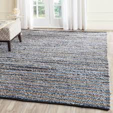 overstock area rug safavieh cape cod blue natural 8 ft x 10 ft area rug cap363a 8