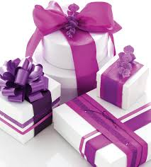 purple gift wrap how to wrapping wraps gift and corner