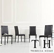 Dining Room Chairs Set Of 4 Darcy Espresso Metal Upholstered Dining Chair Set Of