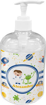 themed soap dispenser boy s space themed bathroom accessories set personalized potty