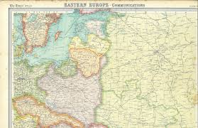 Historical Maps Of Europe by Maps1919 29