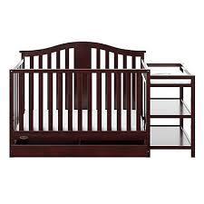 Graco Convertible Crib Graco Solano 4 In 1 Convertible Crib And Changer In Espresso