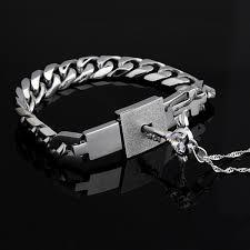 key necklace set images Romantic titanium bracelet and angel 39 s heart key necklace sterling jpg