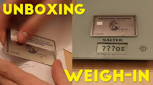 American Express Black Card Invitation Amex Platinum Metal Card Unboxing And Weigh In Youtube