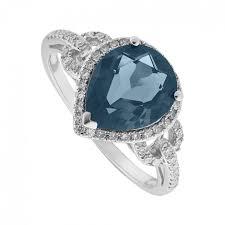 engagement rings london blue topaz rings