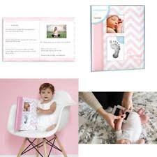 pearhead photo album baby side 34020 pearhead album pink photo ebay