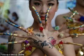 Chinese Art Design 60 Latest Chinese Nail Art Designs