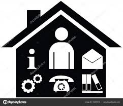 business management or facility management vector symbol icon