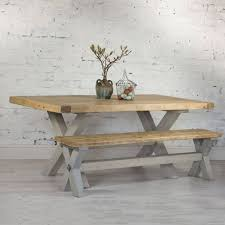 Refectory Dining Tables Reclaimed Timber Refectory Dining Table By Home Barn