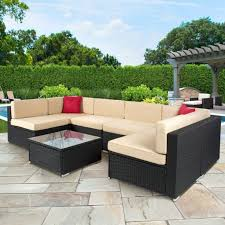 Patio Wicker Furniture Clearance Creative Of Outdoor Patio Furniture Sectional Pc Wicker Clearance