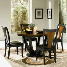 round dining room tables for 6 boyer 5pc round dining set